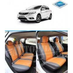 Авточехлы Автопилот для Nissan Tiida 2 в Краснодаре
